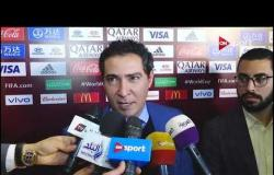 """تصريحات """"محمد بركات"""" مدير المنتخب الوطني عن مجموعة مصر في تصفيات كأس العالم"""