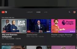 يوتيوب تطلق تطبيق YouTube TV لبلاي ستيشن 4