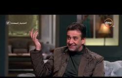 صاحبة السعادة - كريم عبد العزيز يحكي  عن ماحدث في أمريكا بعد العرض الخاص لفيلم أولاد العم هناك