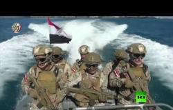 مناورات سعودية مصرية في البحر الأحمر