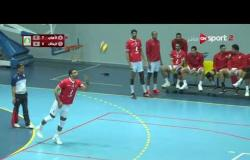 مباراة كرة الطائرة بالدور قبل النهائي بين الأهلي والزمالك - رجال قسم أول