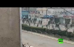 العراق.. صدامات بين المُحتجين وقوات الأمن في واسط