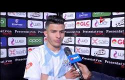 إسلام عيسى بعد الفوز الصعب على نادي مصر: أهم حاجة خدنا الـ 3 نقط