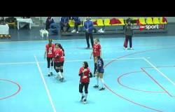 مباراة كرة الطائرة بالدور قبل النهائي بين الأهلي والزمالك - أنسات قسم أول