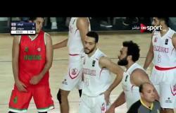 مباراة الزمالك وسبورتنج في دوري السوبر المصري لكرة السلة