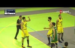 مباراة الاتحاد السكندري والجزيرة في دوري السوبر المصري لكرة السلة