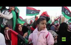 السراج يشارك في احتفالات الذكرى التاسعة للثورة الليبية
