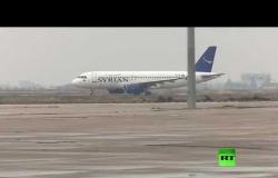انطلاق أول رحلة ركاب من دمشق إلى حلب بعد توقف دام 8 سنوات