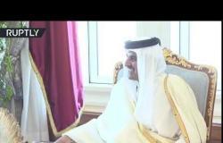 أمير قطر يستقبل سكرتير مجلس الأمن الروسي في الدوحة