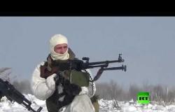 شاهد.. تدريبات وحدات الاستطلاع الروسية