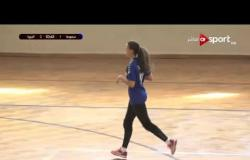 مباراة سموحة VS الجزيرة في بطولة الدوري لكرة اليد - سيدات