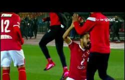 شاهد ماذا فعلوا لاعبي النادي الأهلي عقب اطلاق الحكم صافرة نهاية مباراة القمة