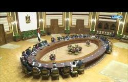 أخر النهار | الرئيس السيسي يلتقي رؤساء المحاكم الدستورية والعليا الأفارقة