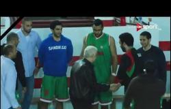 مباراة كرة السلة بين فريقي الزمالك وسبورتنج ف دوري السوبر