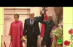 مأدبة العشاء على شرف ترامب في قصر الرئاسة في الهند