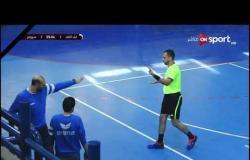 مباراة كرة اليد بين البنك الأهلي وسبورتنج في بطولة الدوري
