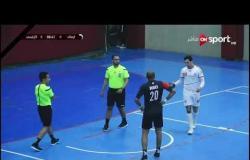 مباراة كرة اليد بين الزمالك والأوليمبي في بطولة السوبر