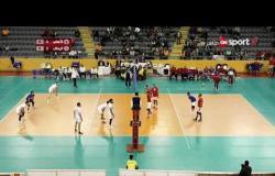 مباراة الكرة الطائرة بين الأهلي والزمالك في نهائي البطولة العربية