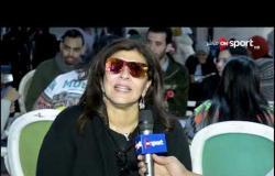 الفنانة هالة صدقي توجه رسائل للمسئولين وجماهير كرة القدم من أجل نبذ التعصب