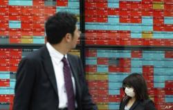 """""""نيكي"""" الياباني يتراجع 4%بالختام ويسجل أسوأ أداء أسبوعي بـ4 أعوام"""