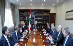 الرئاسة اللبنانية: الاجتماع المالي في لبنان يعارض دفع الديون المستحقة