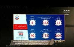 من مصر | وزارة الصحة: تسجيل 33 إصابة جديدة بفيروس كورونا و4 وفيات