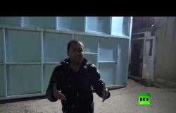 مراسل آر تي يروي تفاصيل عصيان الدواعش في أحد سجون الحسكة السورية