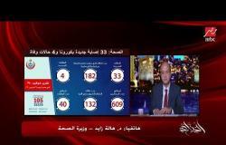 وزيرة الصحة: بنعمل فحوصات لكل إللي داخلين من منافذ مصر