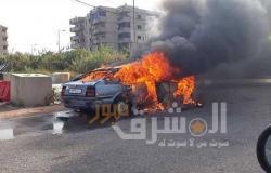 دون إصابات… السيطرة على حريق داخل سيارة ملاكي بالمقطم