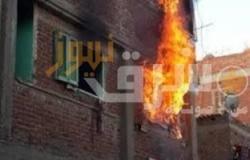 اندلاع حريق داخل شقة سكنية بمدينة بدر