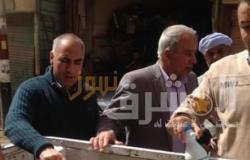 تحرير 8 مخالفات تموينية بحملة موسعة بمركز أبو قرقاص