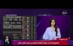 نشرة ضد كورونا -السعودية تمدد هوية الإقامة للوافدين بدون مقابل مالي