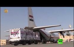 مصر ترسل طائرتين عسكريتين تحملان مستلزمات طبية إلى إيطاليا