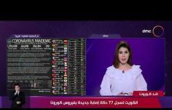 نشرة ضد كورونا -الكويت تسجل 77 حالة إصابة جديدة بفيروس كورونا
