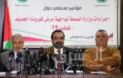 الصحة الفلسطينية: إجمالي الإصابات بفيروس كورونا 226 حالة