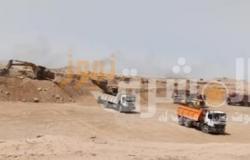 استمرار أعمال حماية طور سيناء من أخطار السيول