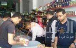 تحرير 44 محضرًا خلال حملة تموينية في الإسكندرية