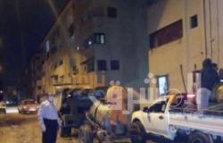 الإسماعيلية تستغل فترة الحظر لتعقيم الشوارع ضد كورونا