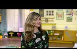 """السفيرة عزيزة - مصمم الأزياء المصري"""" محمد سامي """" يعرض فنه في المطبخ في عمل كيكة الجزر"""