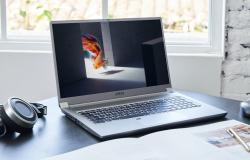 MSI تكشف عن أول حاسب محمول في العالم بشاشة Mini LED
