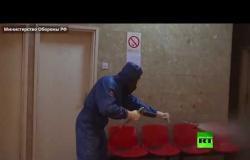 بالفيديو.. الخبراء الروس يكافحون كورونا في صربيا