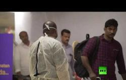 بالفيديو.. إجراءات طبية ضد كورونا في مطارات السعودية