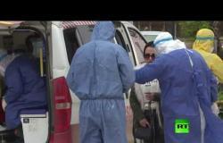أطباء القامشلي يجرون فحوصات طبية لقادمين من دمشق