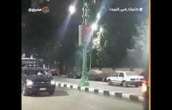 انتشار أمنى في ميادين أسيوط ومدير الأمن يتفقد تطبيق الحظر