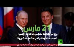 روسيا تكافح كورونا في العالم