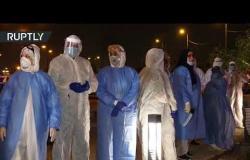 فعالية تضامنية مع ضحايا كورونا في بغداد