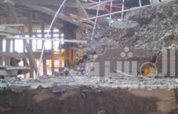 إزالة أعمال بناء مخالفة بالمهد في المحلة
