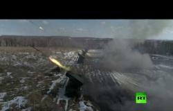 """لأول مرة.. راجمات غراد تضرب أهدافها بمساعدة منظومة """"ستريليتس"""" وطائرات """"أورلان-10"""""""