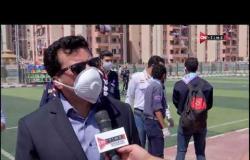 أشرف صبحي وزيرالشباب والرياضة يكشف عن حملة تطهير وتعقيم مراكز الشباب - ملعب ONTime