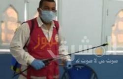 جمعية الهلال الأحمر بالشرقية تنفذ حملات تعقيم وتطهير بالمنشآت العامة